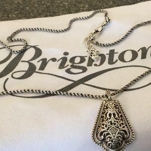 Brighton. Silver Necklace